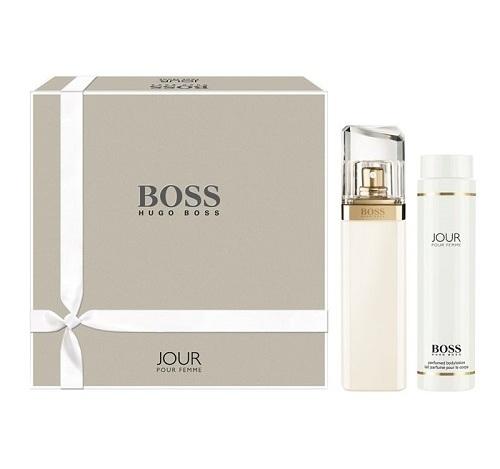Hugo Boss Boss Jour Pour Femme, Dárková sada, parfémovaná voda 75ml + tělové mléko 200ml, Dámska vôňa, + AKCE: dárek zdarma