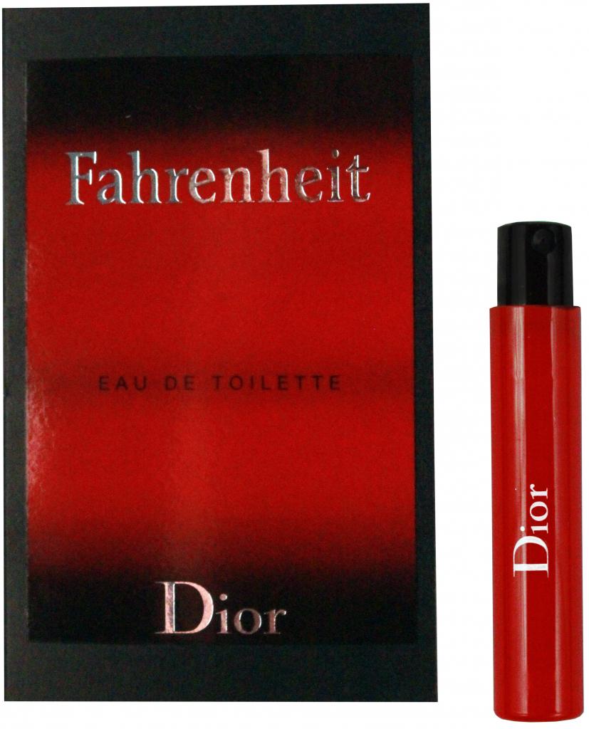 Christian Dior Fahrenheit, Toaletní voda, 1ml, Pánska vôňa, + AKCE: dárek zdarma