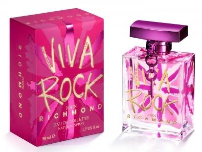 John Richmond Viva Rock, Toaletní voda, 50ml, Dámska vôňa, + AKCE: dárek zdarma