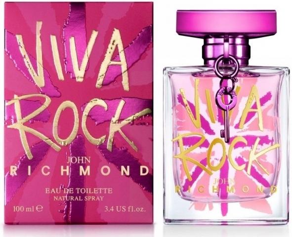 John Richmond Viva Rock, Toaletní voda, 100ml, Dámska vôňa, + AKCE: dárek zdarma