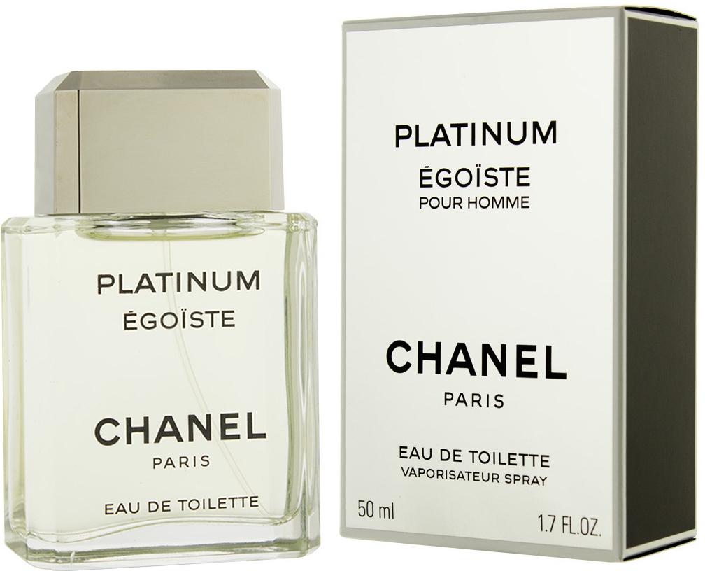 Chanel Egoiste Platinum, Toaletní voda, 50ml, Pánska vôňa, + AKCE: dárek zdarma