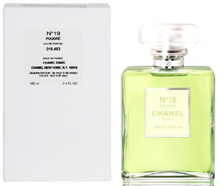 Chanel No.19 Poudre, Parfémovaná voda - Tester, 100ml, Dámska vôňa, + AKCE: dárek zdarma