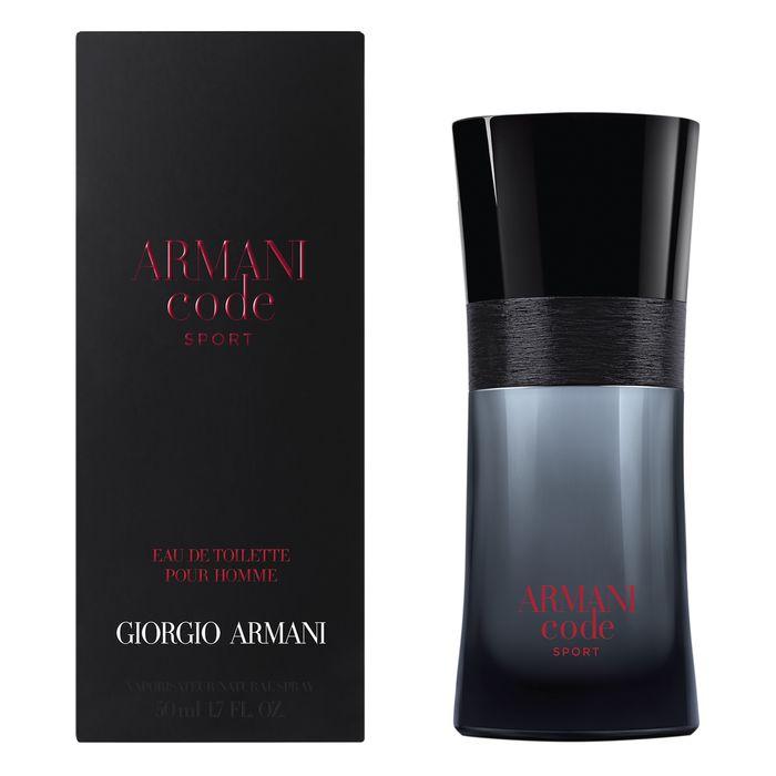 Giorgio Armani Code Sport, Toaletní voda, 75ml, + AKCE: dárek zdarma