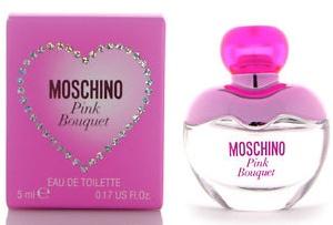 Moschino Pink Bouquet, Toaletní voda, 5ml, Dámska vôňa, + AKCE: dárek zdarma