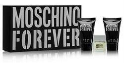 Moschino Forever, Dárková sada, toaletní voda 4.5ml + sprchový gel 25ml + balzám po holení 25ml, Pánska vôňa, + AKCE: dárek zdarma