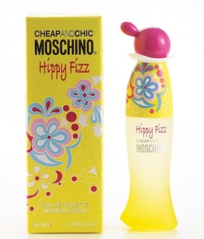 Moschino Hippy Fizz, Toaletní voda, 50ml, Dámska vôňa, + AKCE: dárek zdarma
