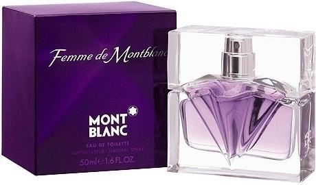 Mont Blanc Femme de Mont Blanc, Toaletní voda, 50ml, Dámska vůně, + AKCE: dárek zdarma