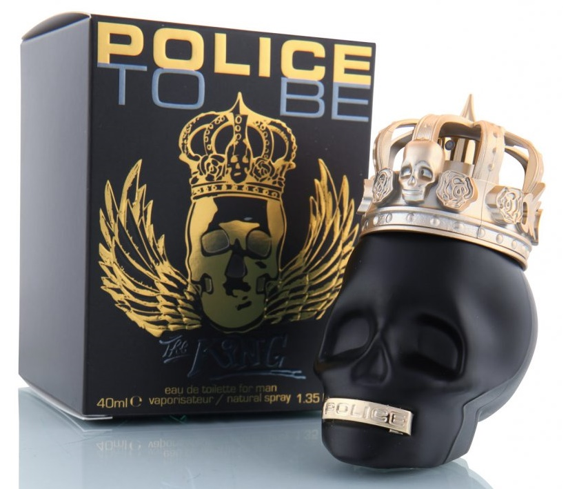 Police To Be the King, Toaletní voda, 40ml, Pánska vôňa, + AKCE: dárek zdarma