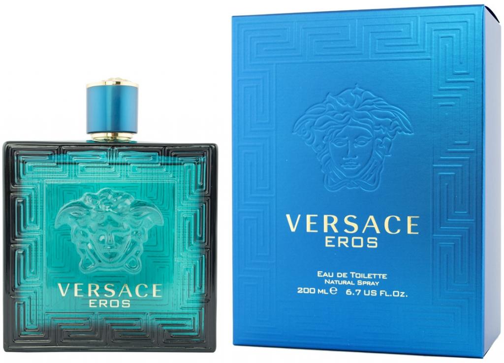 Versace Eros, Toaletní voda, 200ml, Pánska vôňa, + AKCE: dárek zdarma