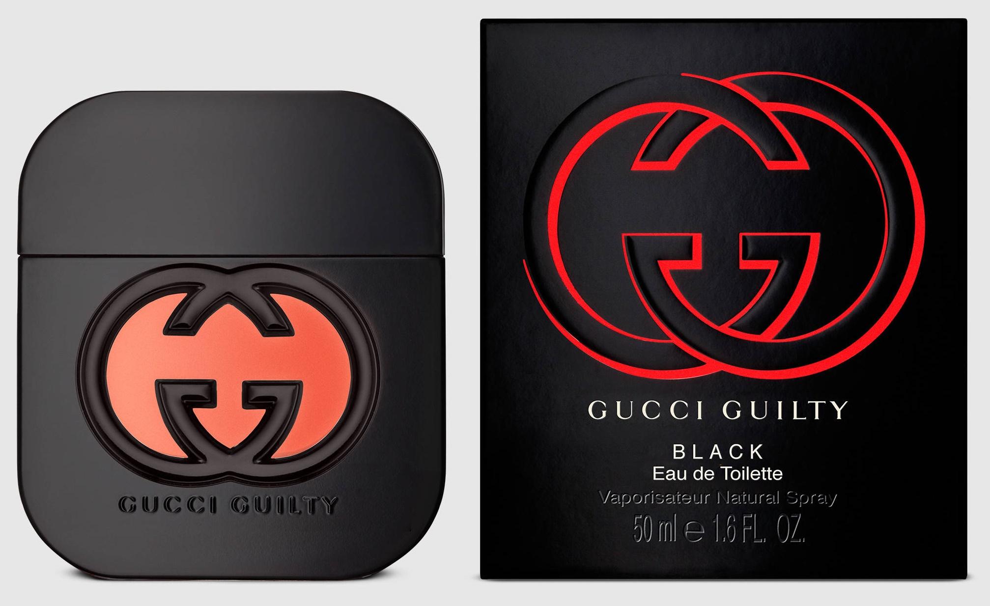 Gucci Guilty Black pour Femme, Toaletní voda, 50ml, Dámska vôňa, + AKCE: dárek zdarma