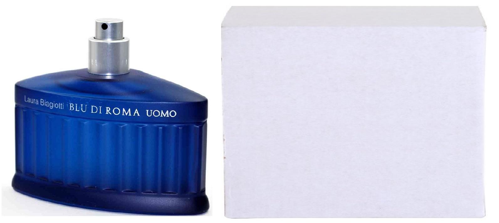 Laura Biagiotti Blu di Roma Uomo, Toaletní voda - Tester, 125ml, Pánska vôňa, + AKCE: dárek zdarma