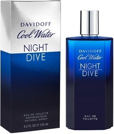 Davidoff Cool Water Night Dive, Toaletní voda, 125ml, Pánska vôňa, + AKCE: dárek zdarma