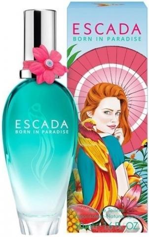 Escada Born in Paradise, Toaletní voda, 50ml, Dámska vôňa, + AKCE: dárek zdarma