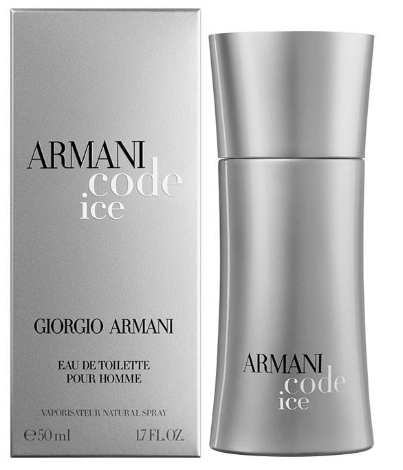 Giorgio Armani Code Ice, Toaletní voda, 50ml, Pánska vôňa, + AKCE: dárek zdarma