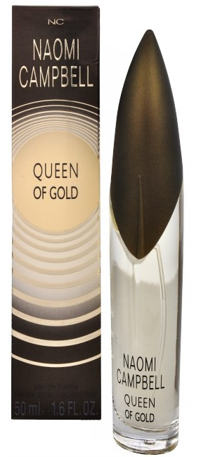 Naomi Campbell Queen Of Gold, Toaletní voda, 50ml, Dámska vôňa, + AKCE: dárek zdarma