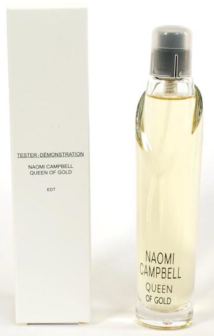 Naomi Campbell Queen Of Gold, Toaletní voda - Tester, 50ml, Dámska vôňa, + AKCE: dárek zdarma