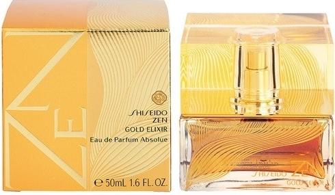 Shiseido Zen Gold Elixir, Parfémovaná voda, 50ml, Dámska vôňa, + AKCE: dárek zdarma