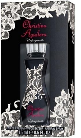 Christina Aguilera Unforgettable, Parfémovaná voda, 15ml, Dámska vôňa, + AKCE: dárek zdarma