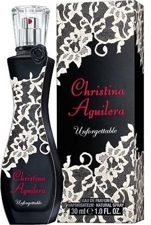 Christina Aguilera Unforgettable, Parfémovaná voda, 30ml, Dámska vůně, + AKCE: dárek zdarma
