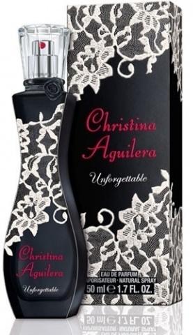 Christina Aguilera Unforgettable, Parfémovaná voda, 50ml, Dámska vůně, + AKCE: dárek zdarma