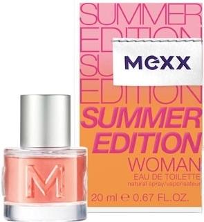 Mexx Summer Edition Woman 2014, Toaletní voda, 20ml, Dámska vôňa, + AKCE: dárek zdarma
