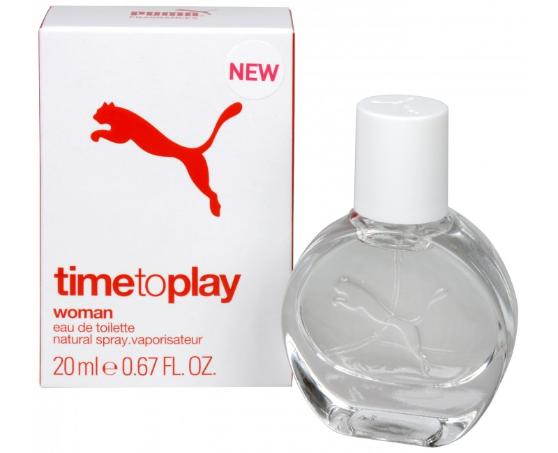 Puma Time To Play Woman, Toaletní voda, 20ml, Dámská vůně, + AKCE: dárek zdarma