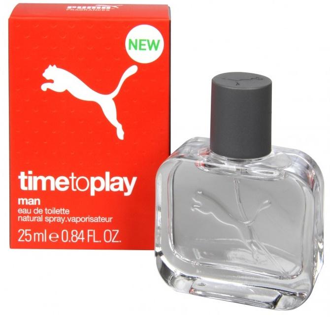 Puma Time To Play Man, Toaletní voda, 25ml, Pánská vůně, + AKCE: dárek zdarma