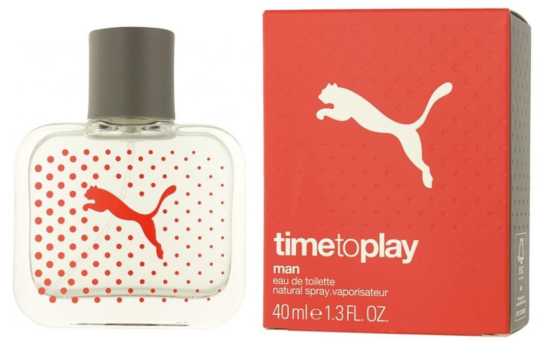 Puma Time To Play Man, Toaletní voda, 40ml, Pánská vůně, + AKCE: dárek zdarma