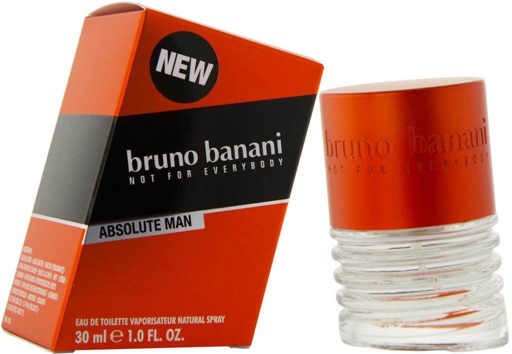Bruno Banani Absolute for Man, Toaletní voda, 30ml, Pánska vôňa, + AKCE: dárek zdarma