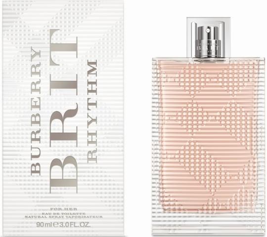 Burberry Brit Rhythm for Woman, Toaletní voda, 90ml, Dámska vôňa, + AKCE: dárek zdarma