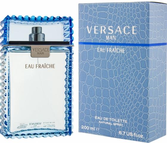 Versace Man Eau Fraiche, Toaletní voda, 200ml, Pánska vôňa, + AKCE: dárek zdarma