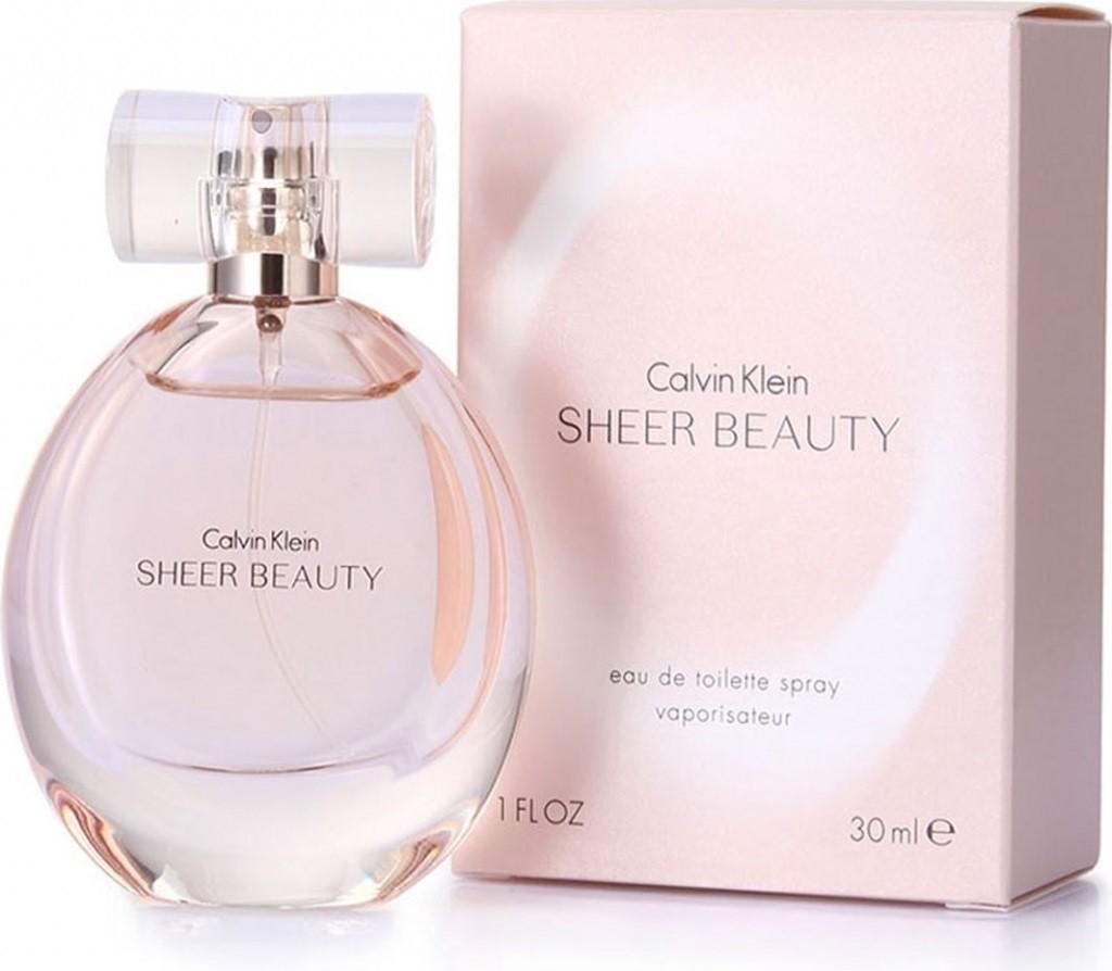 Calvin Klein Beauty Sheer, Toaletní voda, 30ml, Dámska vôňa, + AKCE: dárek zdarma