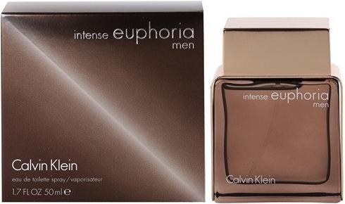 Calvin Klein Euphoria Intense, Toaletní voda, 50ml, Pánska vôňa