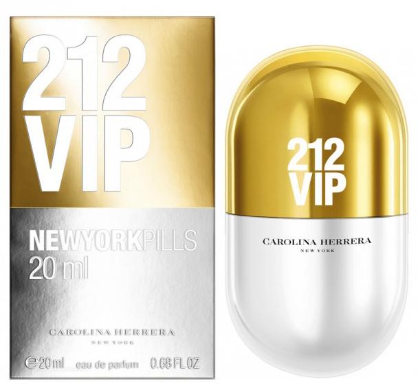 Carolina Herrera 212 VIP, Parfémovaná voda, 20ml, Dámska vôňa, + AKCE: dárek zdarma