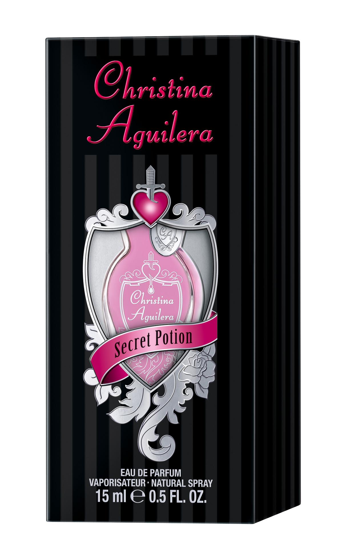 Christina Aguilera Secret Potion, Parfémovaná voda, 15ml, Dámska vôňa, + AKCE: dárek zdarma