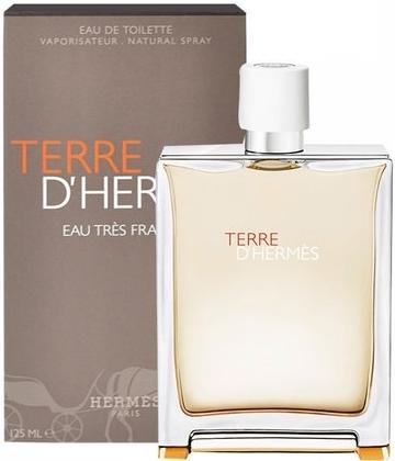 Hermes Terre D´Hermes Eau Tres Fraiche, Toaletní voda, 125ml, Pánska vôňa, + AKCE: dárek zdarma