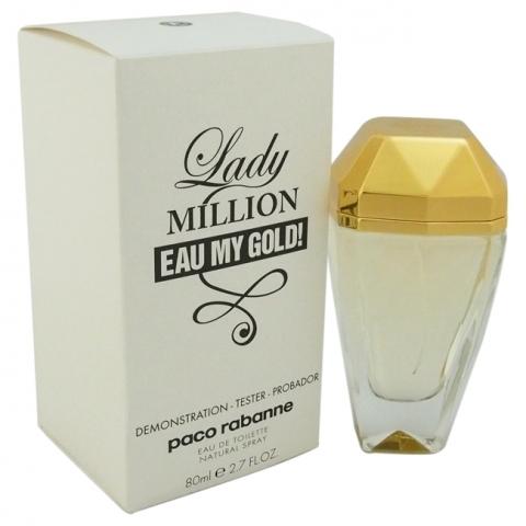 Paco Rabanne Lady Million eau my gold, Toaletní voda - Tester, 80ml, Dámska vôňa, + AKCE: dárek zdarma