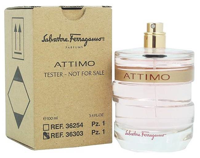 Salvatore Ferragamo Attimo L´Eau Florale, Toaletní voda - Tester, 100ml, Dámska vôňa, + AKCE: dárek zdarma