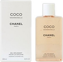 Chanel Coco Mademoiselle, Sprchový gel, 200ml, Dámska vôňa, + AKCE: dárek zdarma