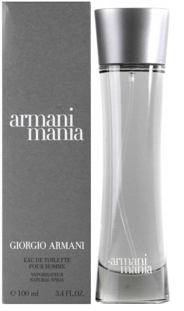 Giorgio Armani Mania Men, Toaletní voda, 100ml, Pánska vôňa, + AKCE: dárek zdarma