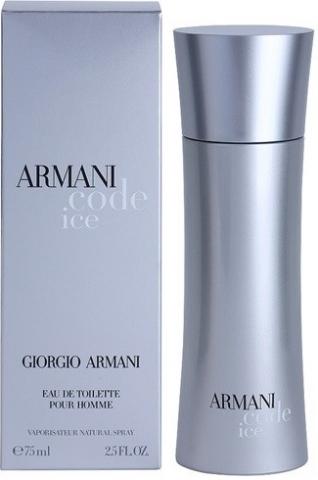 Giorgio Armani Code Ice, Toaletní voda, 75ml, Pánska vôňa, + AKCE: dárek zdarma