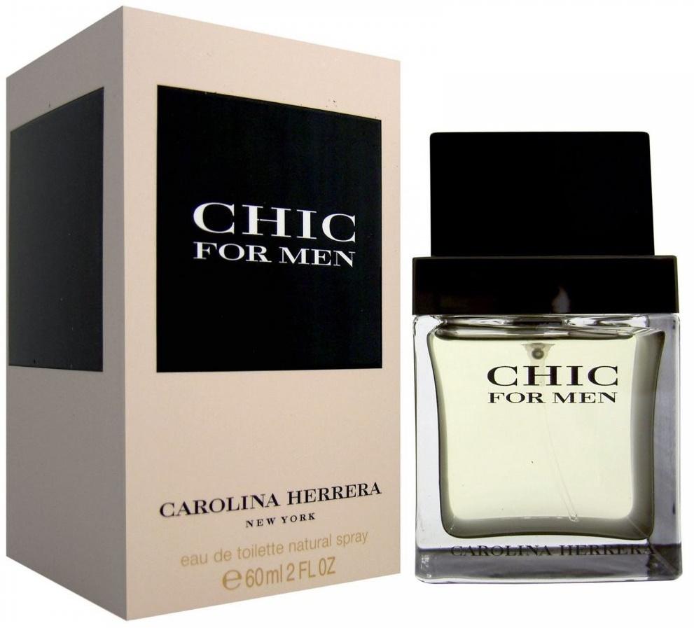 Carolina Herrera Chic for Men, Toaletní voda, 60ml, Pánska vôňa, + AKCE: dárek zdarma
