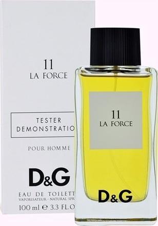 Dolce & Gabbana 11 La Force, Toaletní voda - Tester, 100ml, Unisex vôňa, + AKCE: dárek zdarma