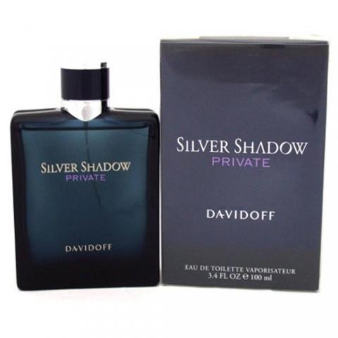 Davidoff Silver Shadow Private, Toaletní voda, 100ml, + AKCE: dárek zdarma