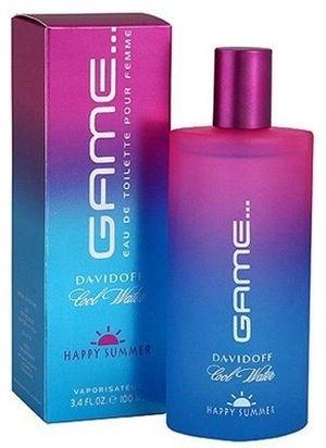 Davidoff Cool Water Game Happy Summer Woman, Toaletní voda, 100ml, Dámska vôňa, + AKCE: dárek zdarma