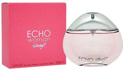 Davidoff Echo Woman, Parfémovaná voda, 30ml, Dámska vôňa, + AKCE: dárek zdarma