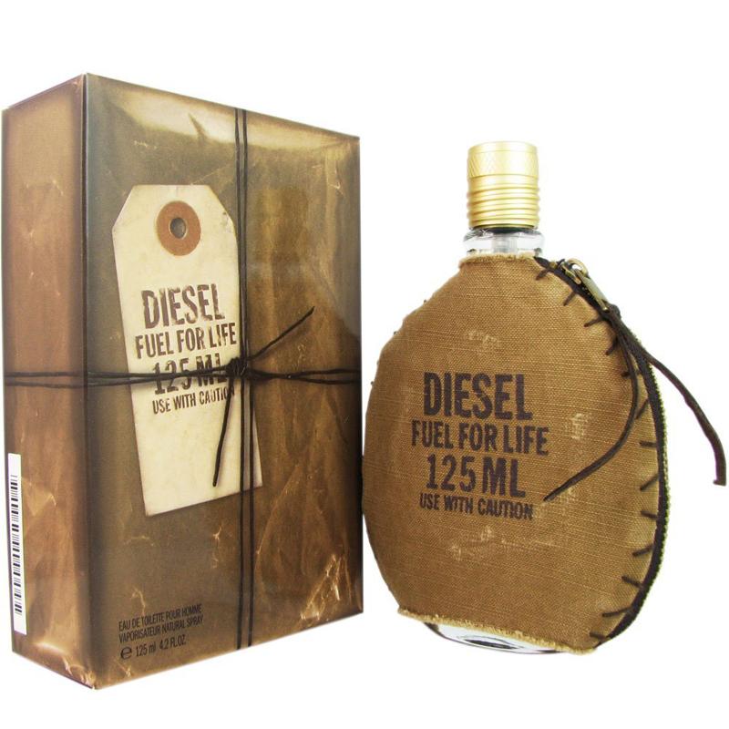 Diesel Fuel For Life Homme, Toaletní voda, 125ml, Pánska vôňa, + AKCE: dárek zdarma