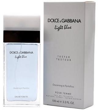 Dolce & Gabbana Light Blue Dreaming In Portofino, Toaletní voda - Tester, 100ml, Dámska vôňa, + AKCE: dárek zdarma