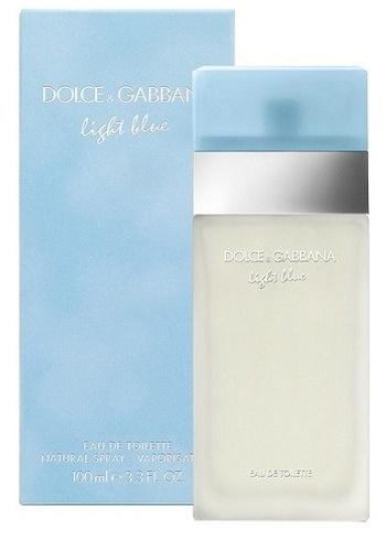 Dolce & Gabbana Light Blue, Toaletní voda, 100ml, Dámska vôňa, + AKCE: dárek zdarma