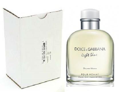Dolce & Gabbana Light Blue Discover Vulcano Pour Homme, Toaletní voda - Tester, 125ml, Pánska vôňa, + AKCE: dárek zdarma